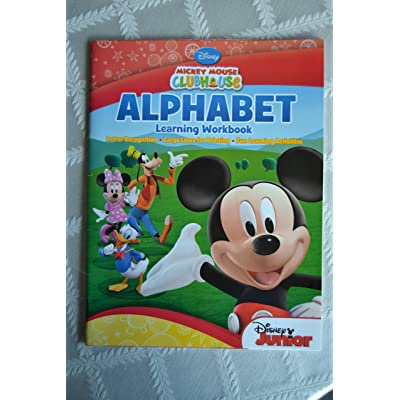 Mickey Mouse Clubhouse Alphabet Learning Workbook: Playhouse Disney: Toys & Games