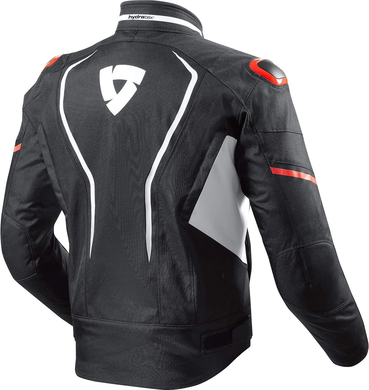 Motorradjacke mit Protektoren Motorrad Jacke Vertex H2O Textiljacke Ganzj/ährig Sportler REVIT Herren