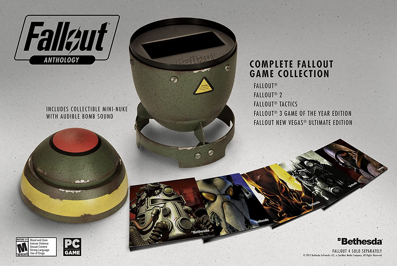 Amazon com: Fallout Anthology - PC: Video Games