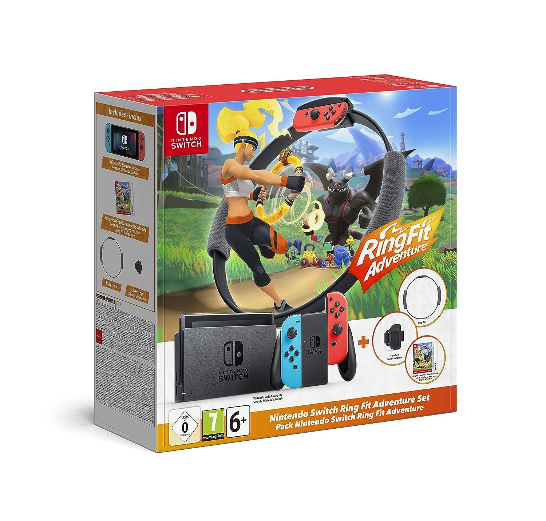 Nintendo Switch Ring Fit Adventure Set Amazon De Games