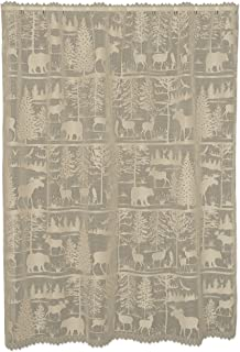 """product image for Heritage Lace Natural 60""""X63"""" Lodge Hollow Panel, 60"""" x 63"""",6405NA-6063"""