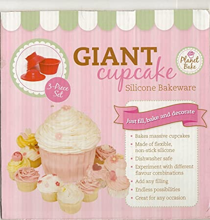 Giant Cupcake Silicone Mould Amazon Kitchen Home