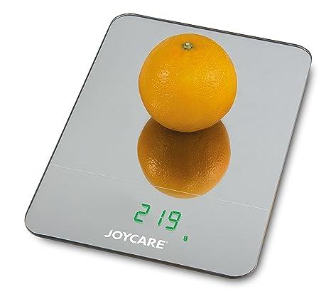 Joycare jc-407 Caress Báscula Cocina Digital de cristal, espejo