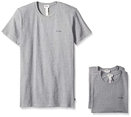 1971575e7a1 Amazon.com  Diesel Men s Randal 3-Pack Essentials Crew-Neck T-Shirt   Clothing