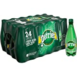 PERRIER Sparkling Mineral Water, 16.9 fl oz. Plastic Bottles (24 Count)