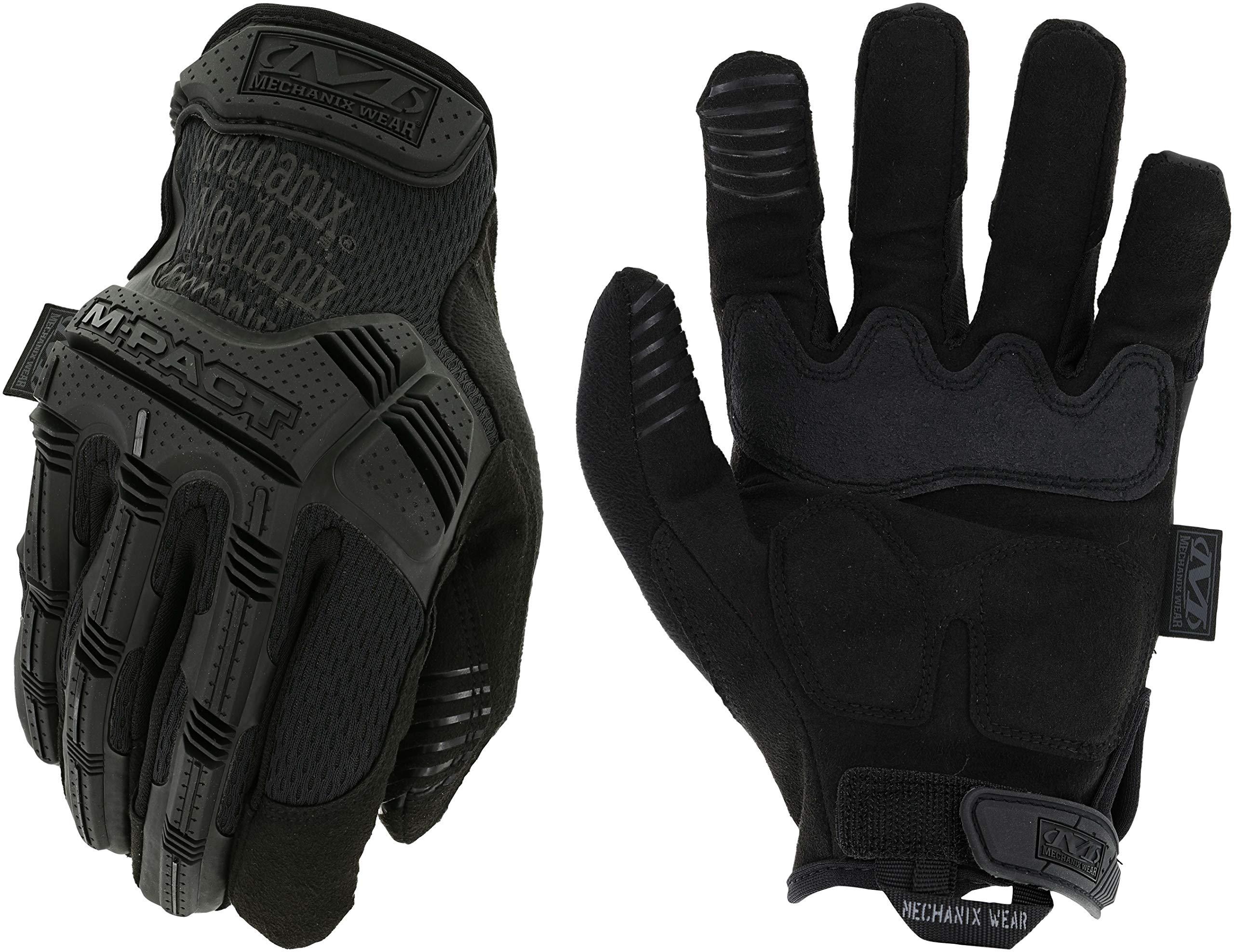 Mechanix Wear - M-Pact Covert Tactical Gloves (Small, Black)