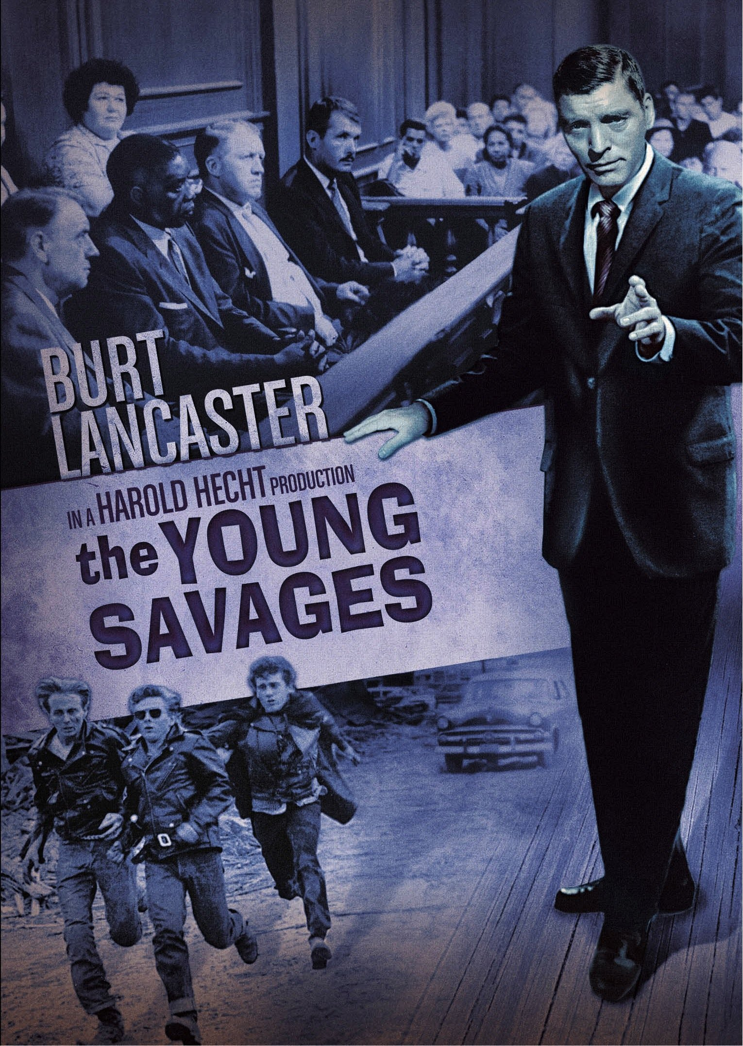 DVD : The Young Savages (DVD)