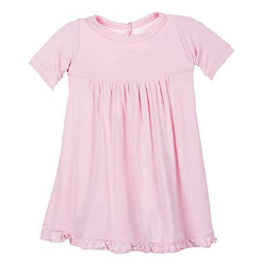 271a8cdf90b5a Amazon.com: KicKee Pants Little Girl Long Sleeve Swing Dress, Lotus ...