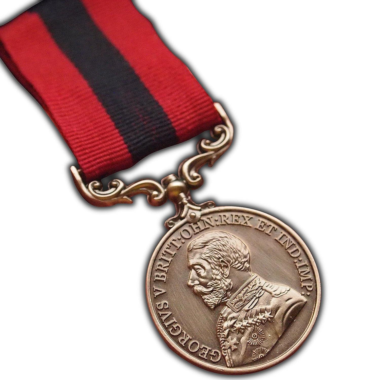 Distinguido conducta Medalla Militar George 5ª Premio para Fertilidad del Ejército Británico Ww1réplica Trikoty
