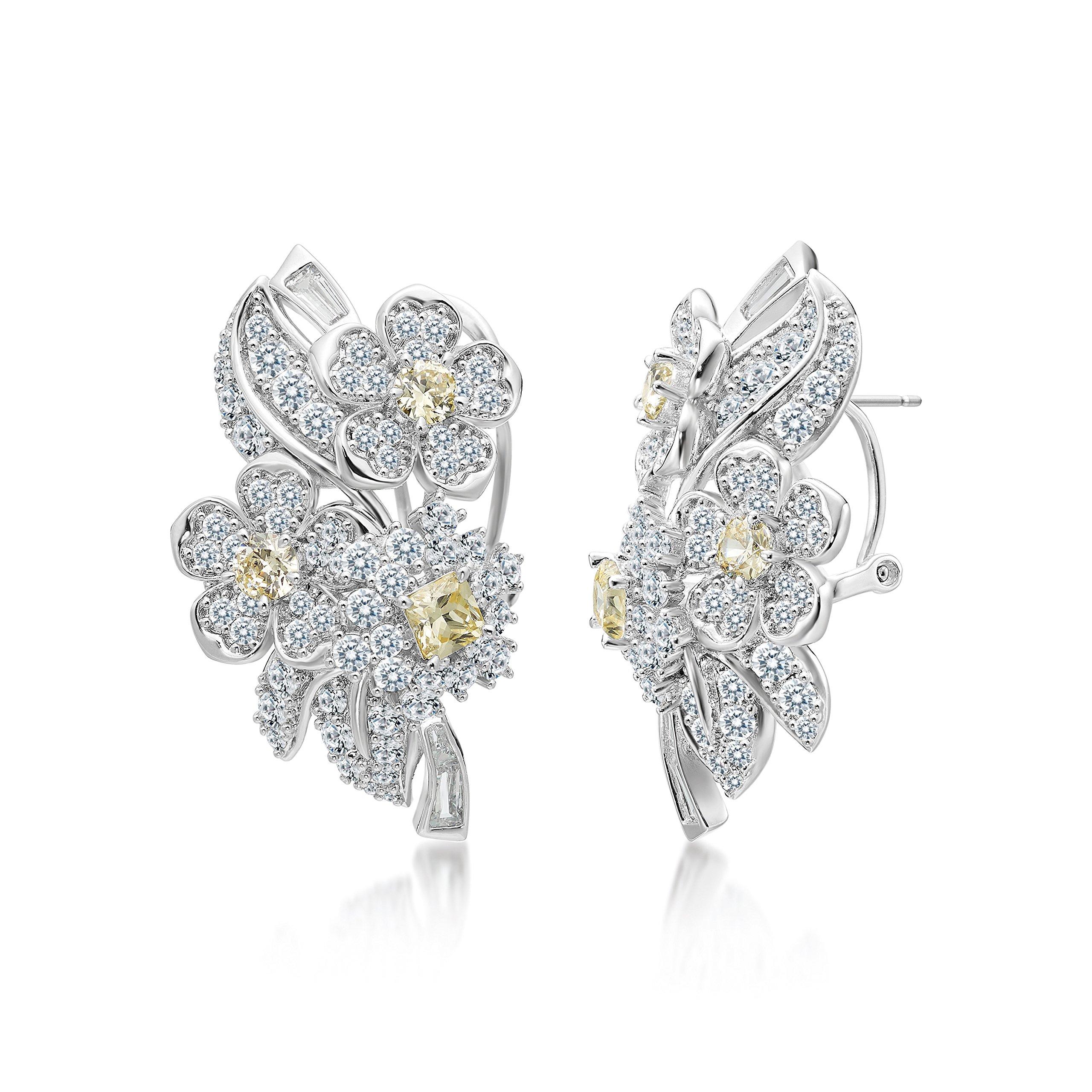 MIYUMIRO Women's Gardens of Downton Abbey Earrings