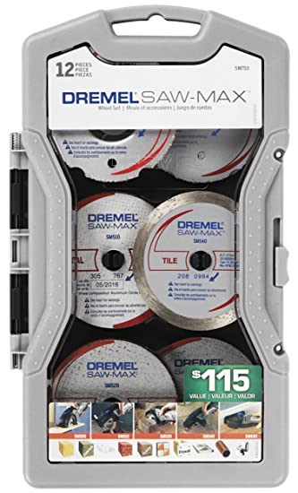Amazon dremel sm710 saw max blade set 12 piece home improvement dremel sm710 saw max blade set 12 piece greentooth Image collections