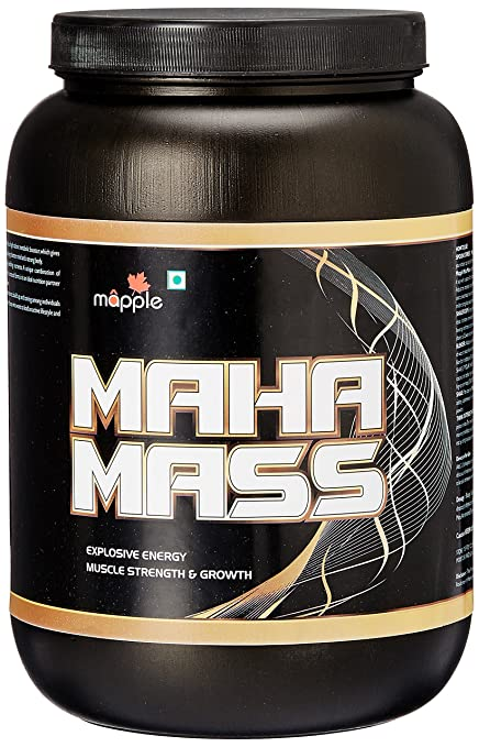 fa68bddce Buy GRF Ayurveda Maha Mass Whey Protein Supplement - 1 kg (Chocolate ...