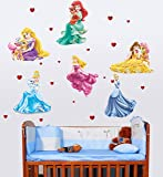 Happy Walls Angel Castle Princess Fairy Art' Wall Sticker