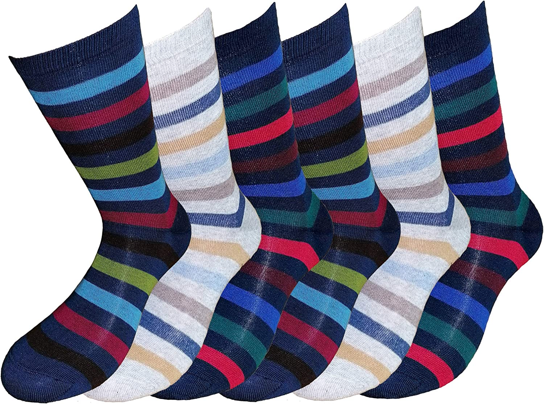 6 paia di calze corte bambino ragazzo in caldo cotone elasticizzato Prodotto Italiano Fontana Calze