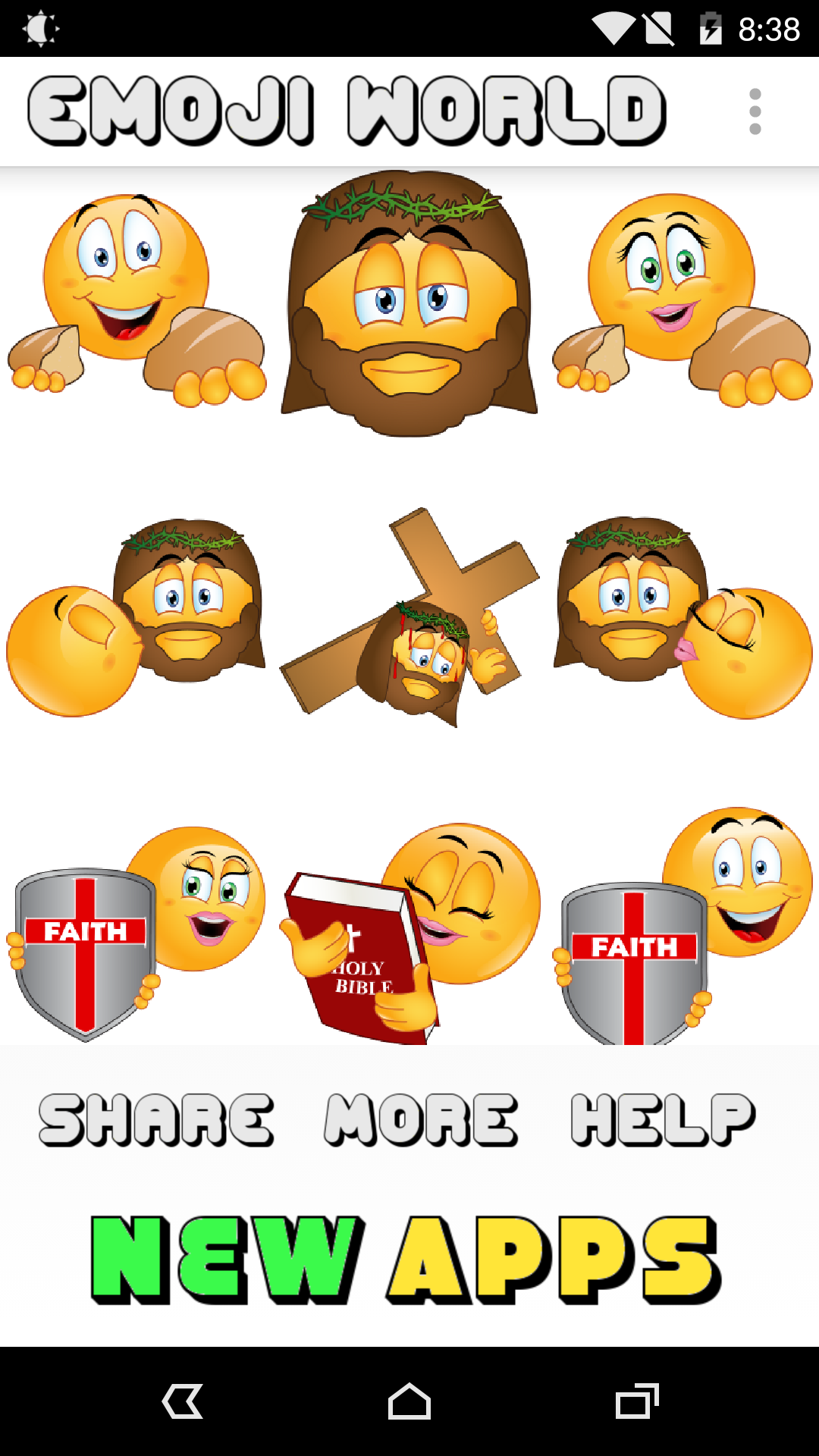 amazon com  christian emojis 2 by emoji world  appstore