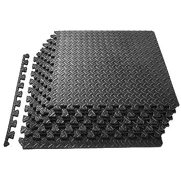 Bodenbelag Garage 1st click schaumstoffmatten bodenplatten zusammensteckbarer