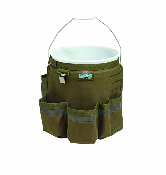 Bucket Boss Garden Boss Bucket Tool Organizer in Green, GB20010