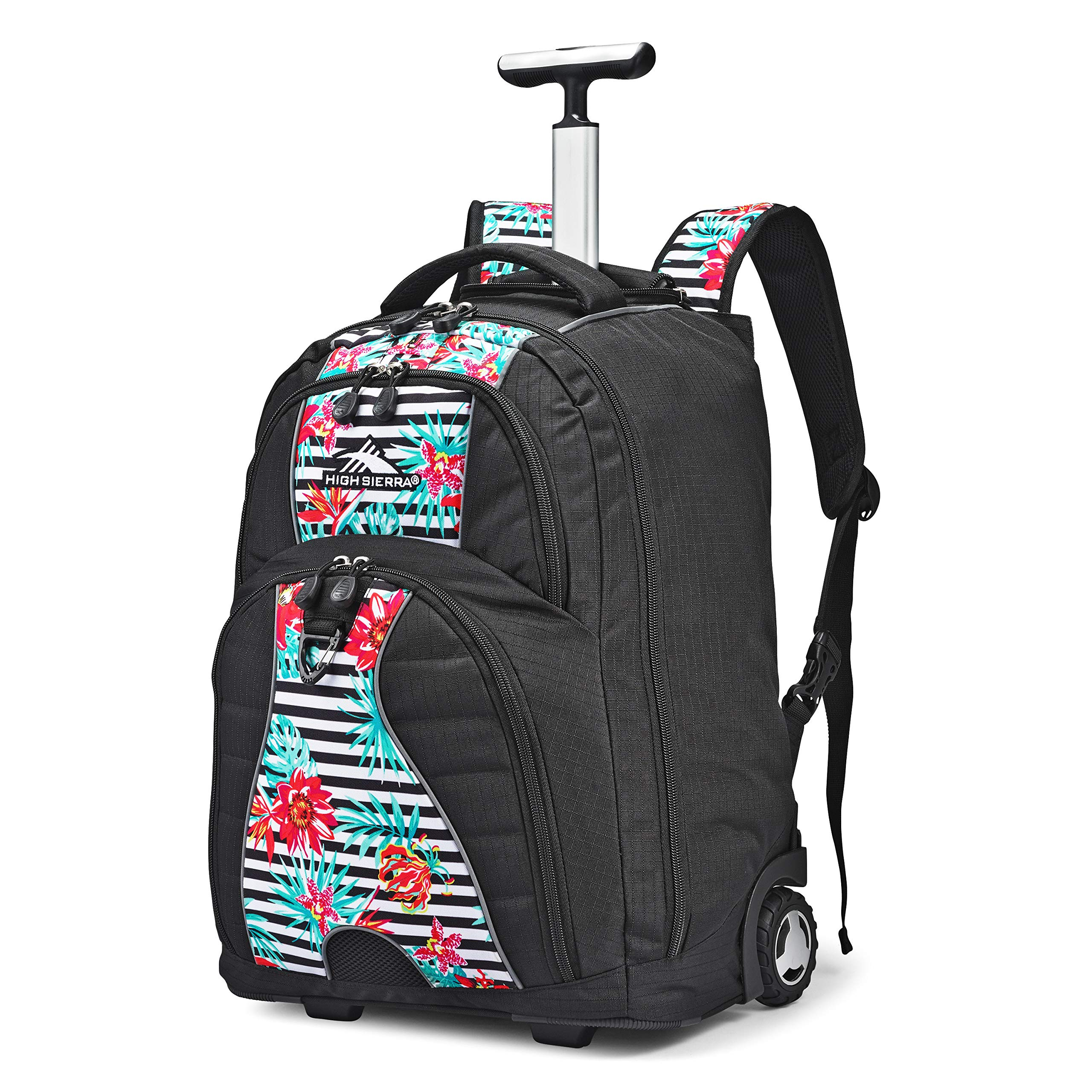 High Sierra Freewheel Wheeled Laptop Backpack, 15-inch Student Laptop Backpack for High School or College, Rolling Gamer Laptop Backpack, Wheeled Business Laptop Backpack, Perfect for Travel by High Sierra