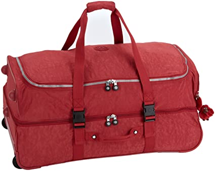 Kipling Bolsa de Viaje, Teagan L, 75 cm, Rojo Ketchup ...