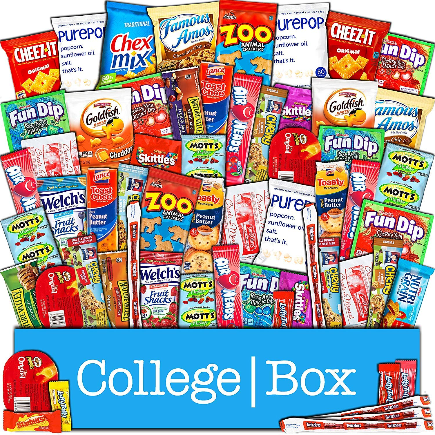 Amazon.com : Student Care Package / Food Basket - - College Care ...