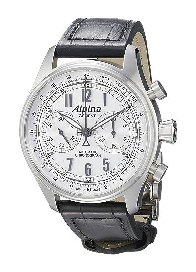 Alpina AL860SCP4S6 - Reloj de pulsera hombre, color Negro: Amazon.es: Relojes