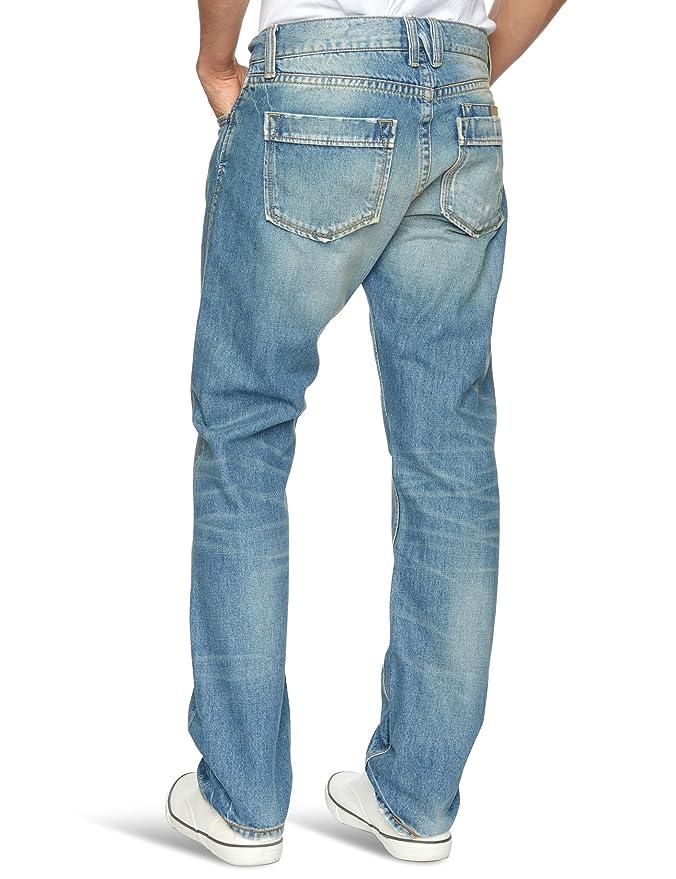NZA Herren Jeans Straight, mittlere Leibhöhe, gerade, W30 x L32, Blau (Jeans  Blue): Amazon.de: Bekleidung
