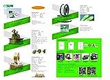 eSUN 3D 1.75mm PETG Green Filament 1kg