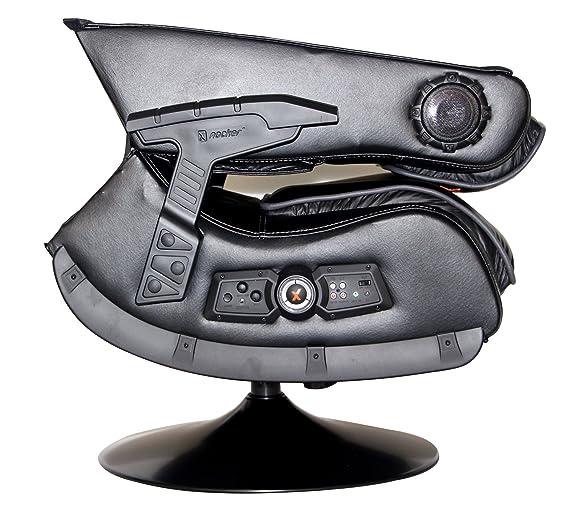 X-Rocker 51396 Pro Serie Pedestal 2,1 sillón para Videojuegos de vídeo, inalámbrico: Amazon.es: Deportes y aire libre