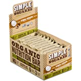Simple Squares Organic Nutrition and Paleo Bar, Chocolate Chip Cho-Coco, 1.6 Ounce (Pack of 12)