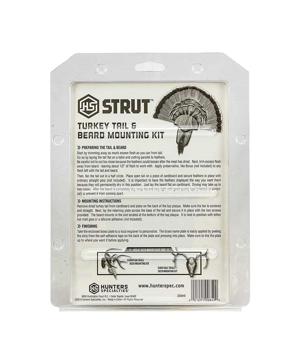 Amazon Hunters Specialties Hs Strut Turkey Tail Beard