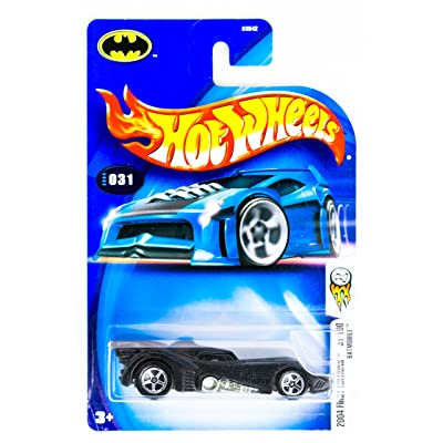 2004 First Editions -#31 Batmobile Semigloss Black #2004-31 Collectible Collector Car Mattel Hot Wheels 1:64 Scale: Toys & Games