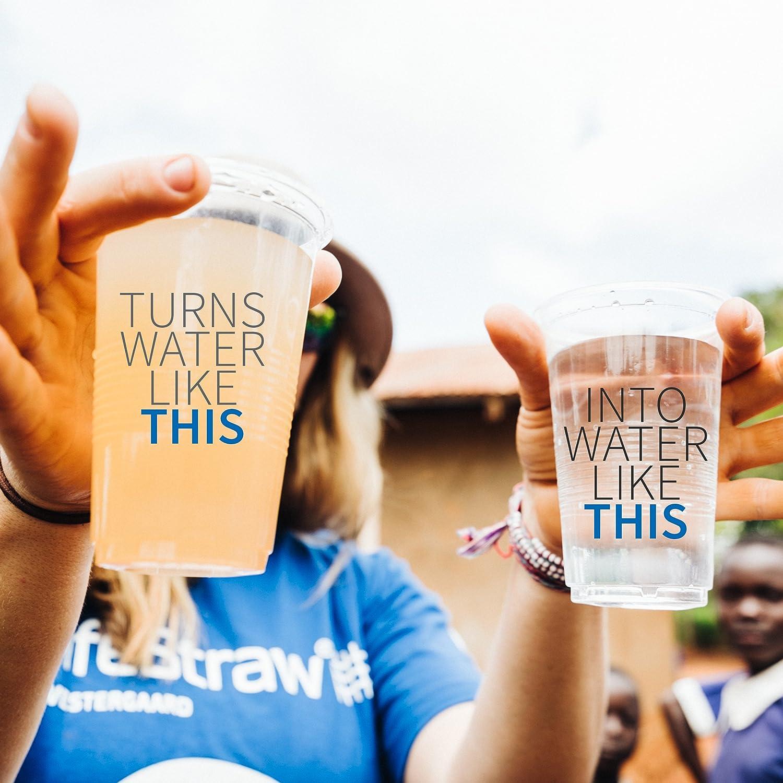 Water treatment Lifestraw mission