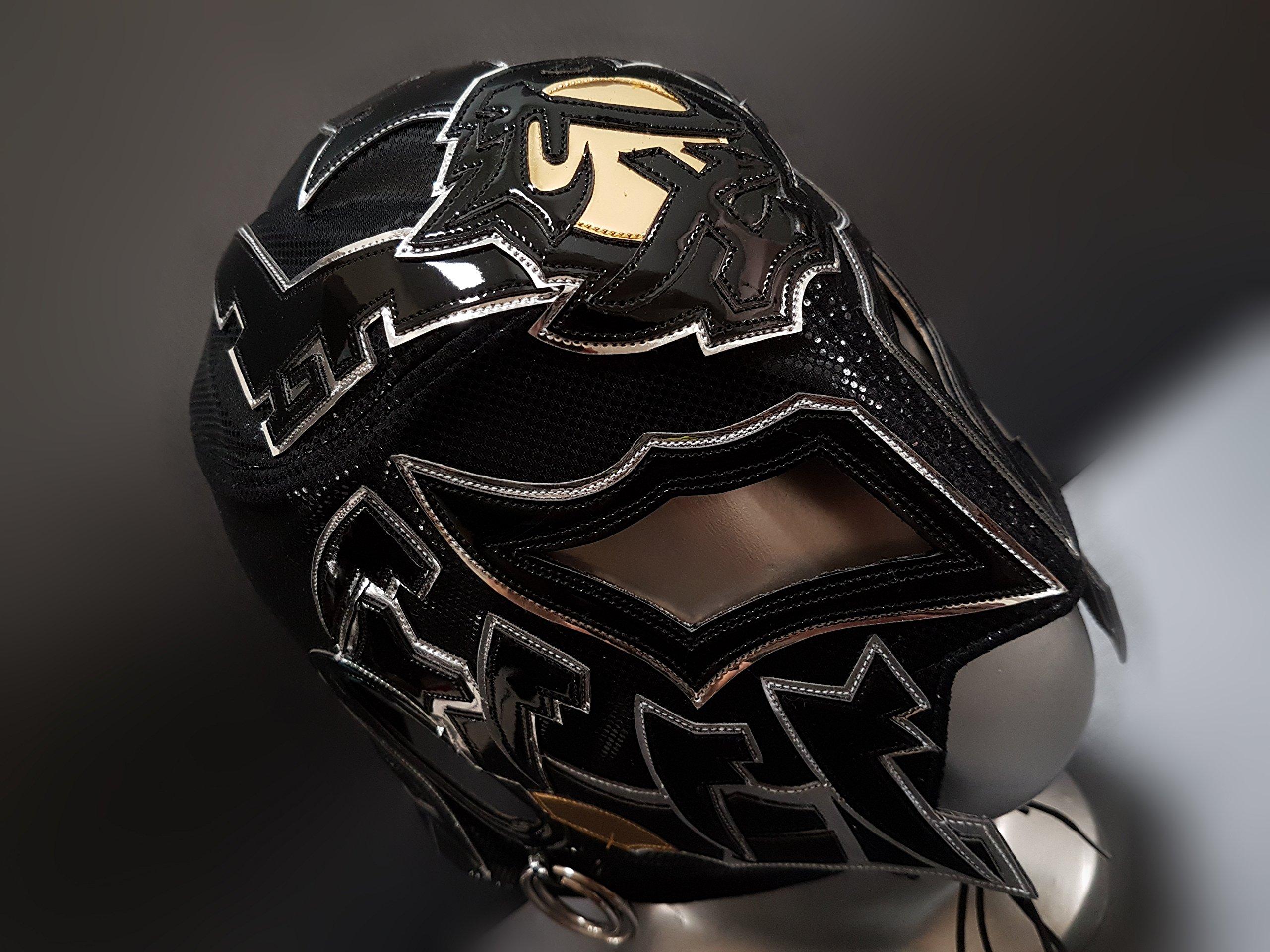 REAL PRO BUSHI MASK WRESTLING MASK LUCHADOR COSTUME WRESTLER LUCHA LIBRE MEXICAN MASKE