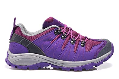 9eec02c52c6f Salaman Women s Lightweight Hiking Shoes Purple ...