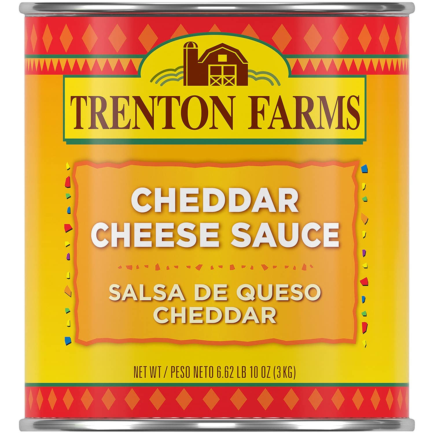 Amazon.com : Trenton Farms Sauce, Cheddar Cheese, 106-Ounce : Gourmet Sauces : Grocery & Gourmet Food