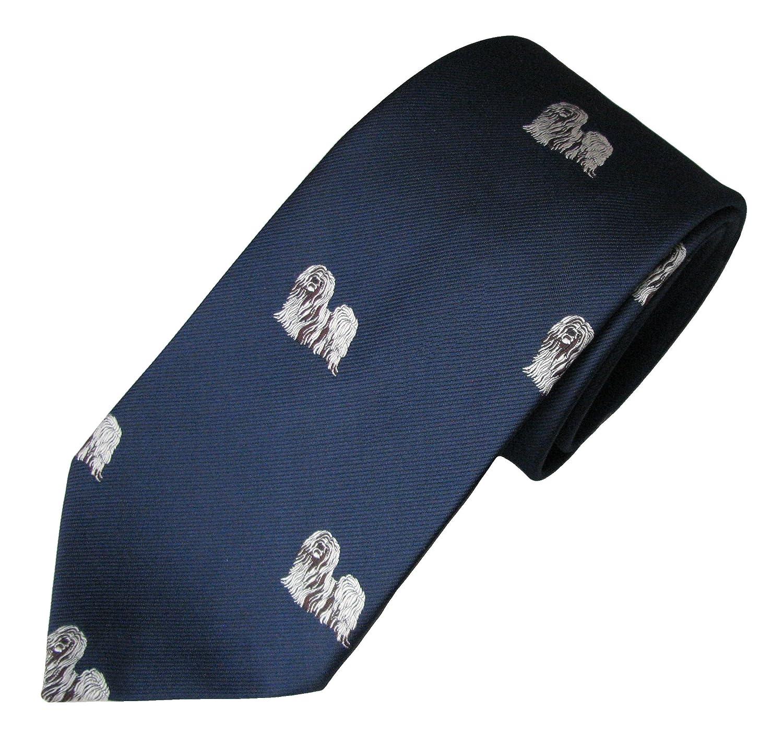 Mens Dog Breed Neck Tie Lhasa Apso Tie