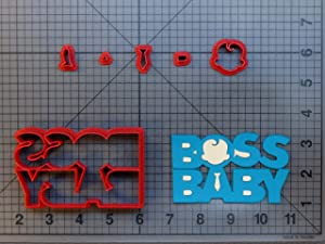 Baby Executive Movie Logo 266-B216 Cookie Cutter Set (4 inch)