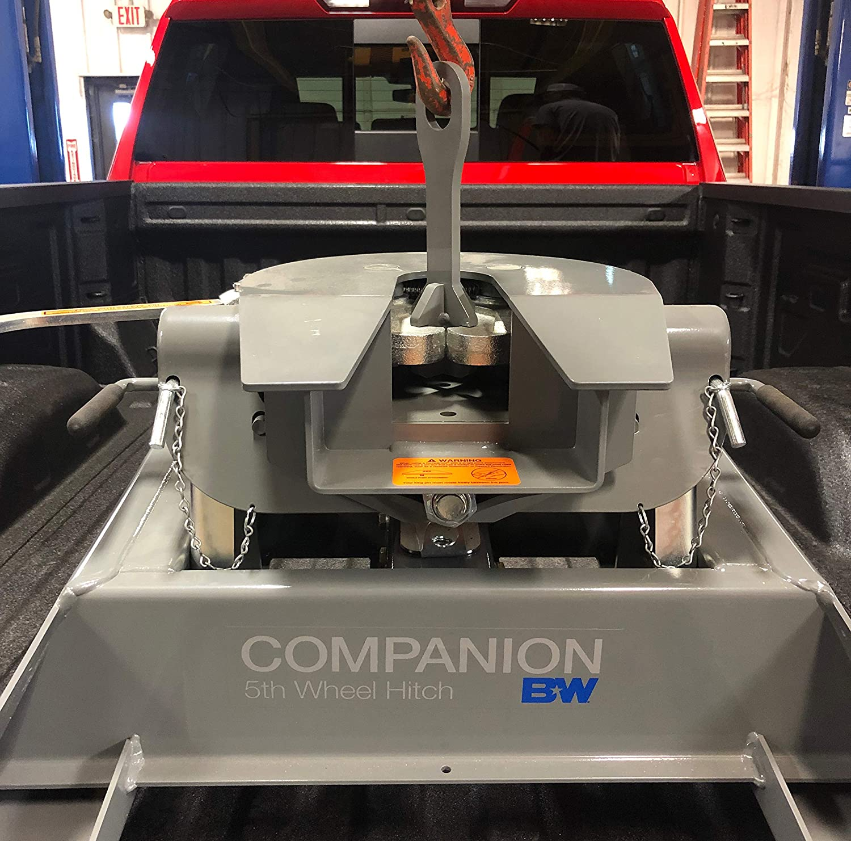 B/&W Fifth Wheel Hitch Lifting Device