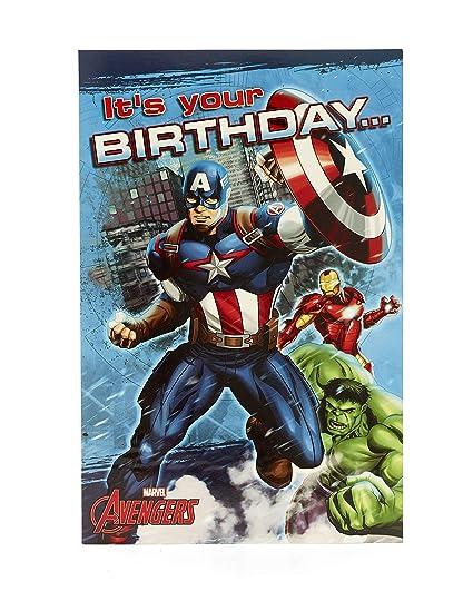 Tarjeta de cumpleaños desplegable para niños, diseño de Los ...
