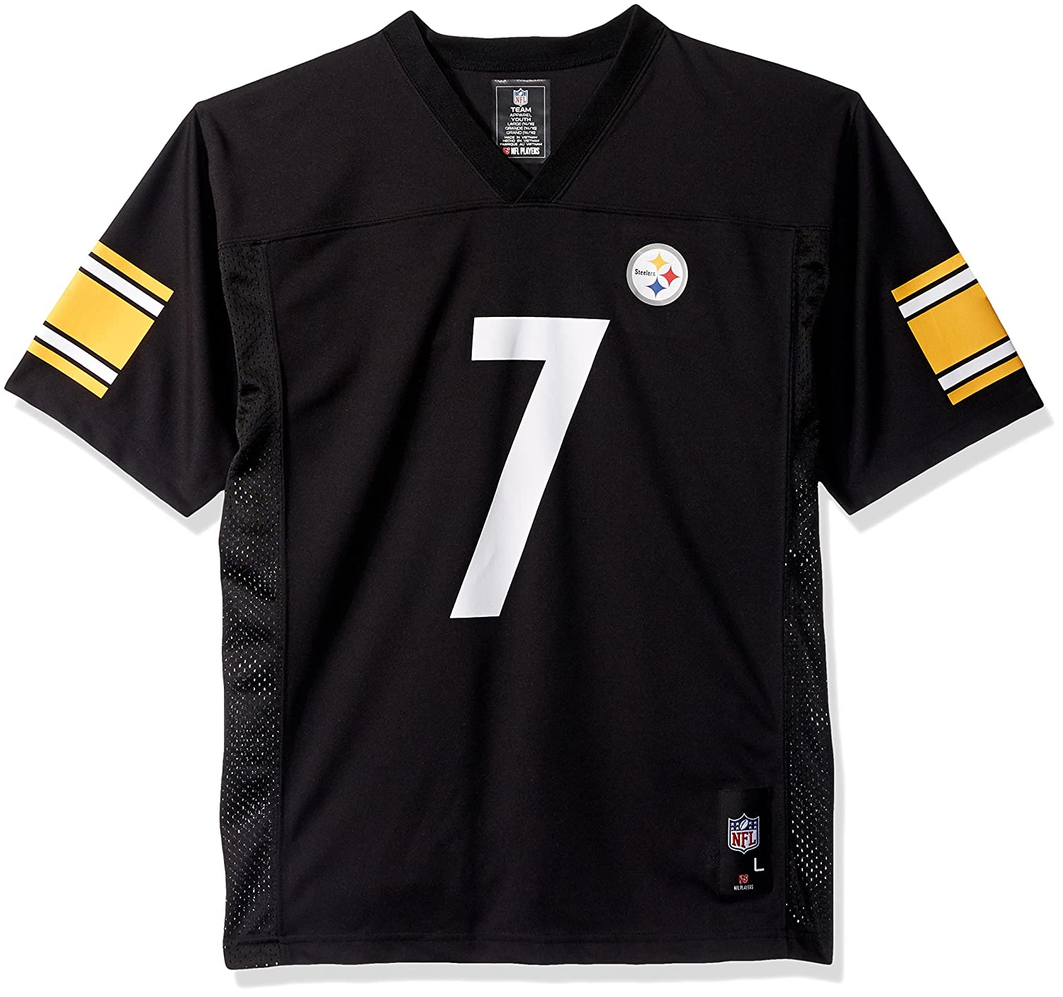 online retailer 7fbc0 09f76 Outerstuff Ben Roethlisberger Pittsburgh Steelers Youth Black Jersey