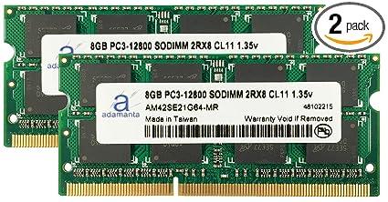 Adamanta 16gb 2x8gb Laptop Memory Upgrade For Dell Alienware