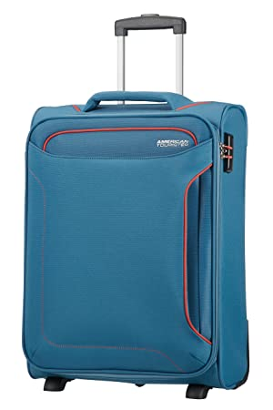 American Tourister Holiday Heat Upright 55/20, 42 L - 2.5 KG Equipaje de Mano, 55 cm, Liters, Azul (Denim Blue): Amazon.es: Equipaje