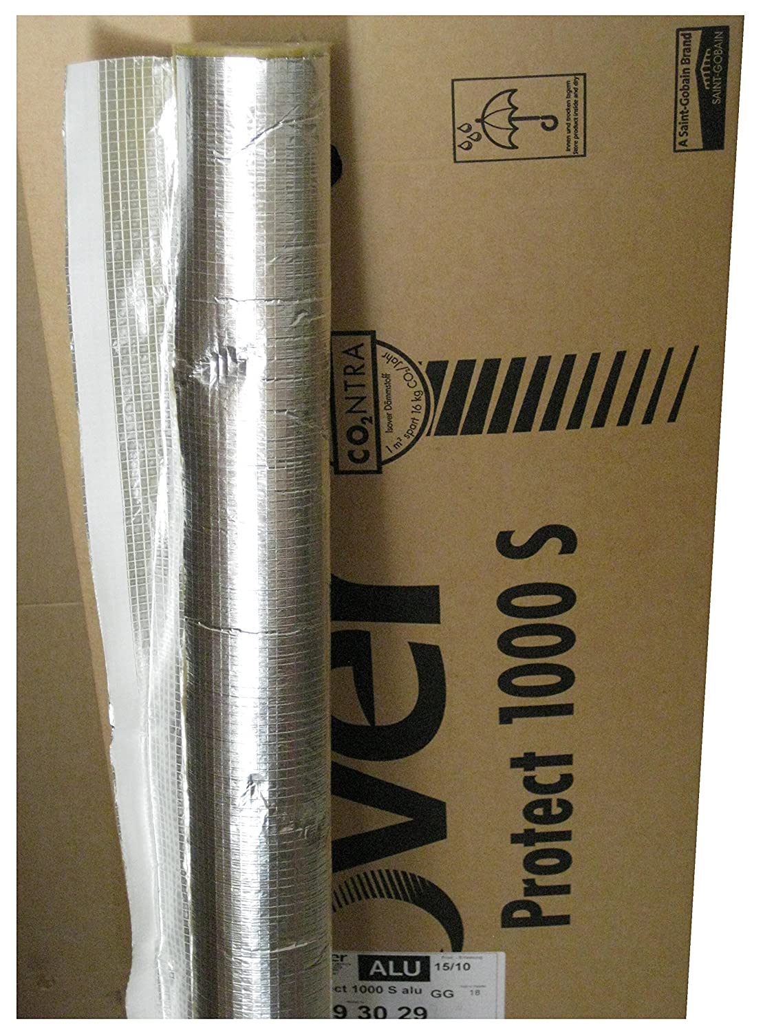 Isover Protect 1000 S alu Steinwolle Rohrisolierung 42 x 30 mm