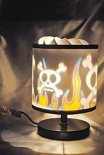 Skull U0026 Fire Magic Spinning Lamp