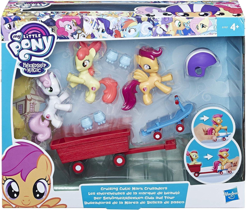My Little Pony – Pack 3 Minis Figuras + Accesorios, E1927: Amazon.es: Juguetes y juegos
