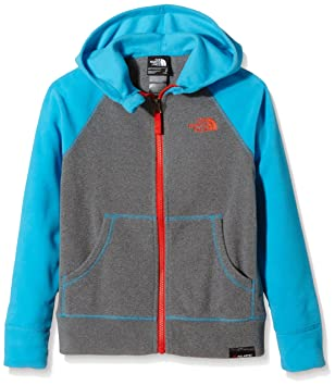 428e9a3c0 North Face Boys' Glacier Full Zip Hoodie Fleece Jacket