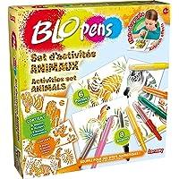 Lansay - 23527 - Kit De Loisirs Créatifs - Blopens Set D'activité Animaux