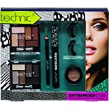 41d8a2b6d80 Technic Entranced Eyes Make Up Cosmetic Gift Set: Amazon.co.uk: Beauty