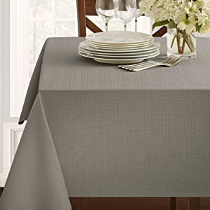 Textured Fabric Tablecloth (60