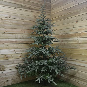 Nobilis Fir Artificial Christmas Tree - 2.4m (8ft): Fizzco: Amazon ...